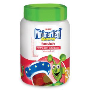 Minimartieni Gummy BoneActiv - 60 cpr