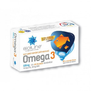 Omega 3 500 mg - 30 cpr