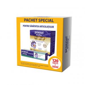 Pachet Proenzi - ArtroStop Intensive - 120 cpr + Proenzi ArtroStop crema - 100 ml