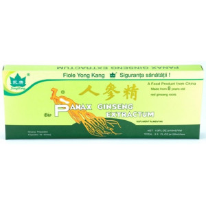 Panax Ginseng Extractum YK - 10 fiole x 10 ml