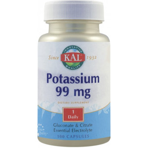 Potassium 99mg - 100 tbl