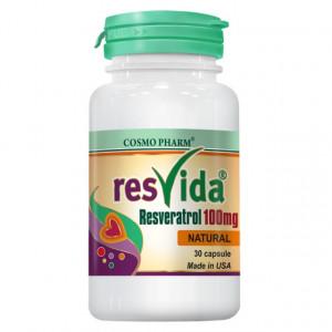 Resvida Resveratrol 100mg - 30 cps