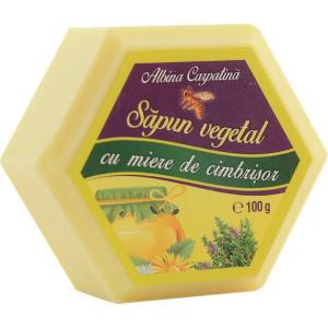 Sapun hexagonal cu miere si cimbrisor - 100g
