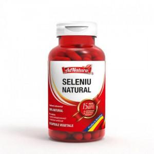 Seleniu natural - 30 cps Adserv