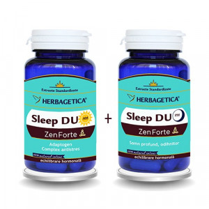 Sleep DUO AM/ PM Zen Forte Pachet - 60 cps + 60 cps