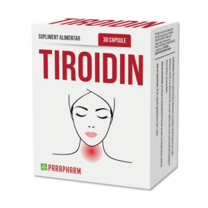 Tiroidin - Secretia deficitara a glandei tiroide