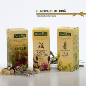 Tratament naturist - Hemoragie uterina (pachet)