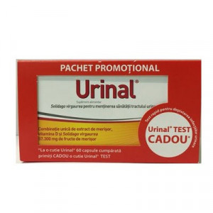 Urinal - 60 cpr + Test Gratis