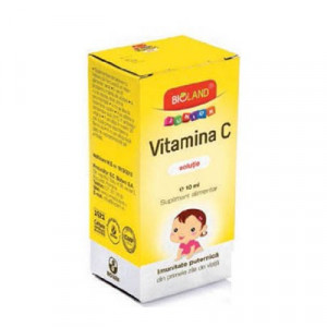 Vitamina C Junior solutie - 10 ml