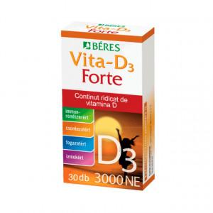Vitamina D3 Forte 3000UI - 30 cpr