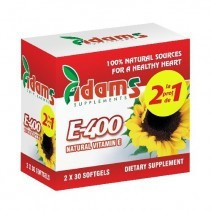 Vitamina E naturala 400mg - 30 cps 1 + 1 Gratis