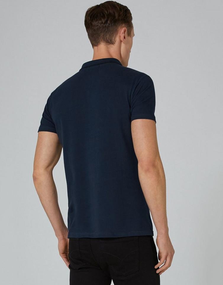 Tricou bleumarin din bumbac