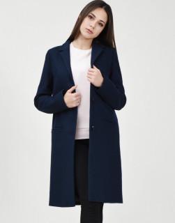 Palton bleumarin