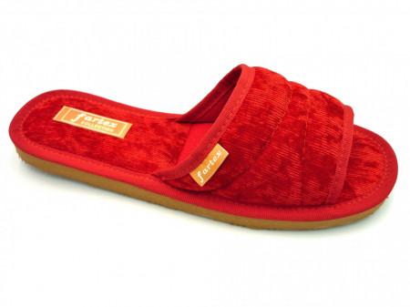 papuci casa raiat rosu sidef
