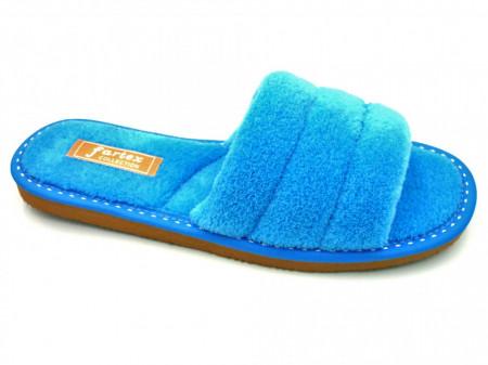 papuci casa frotir bleu