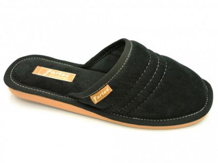 papuci casa-raiat-negru-NE