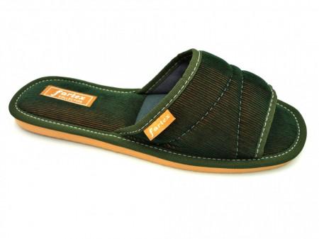 papuci casa raiat verde sidef