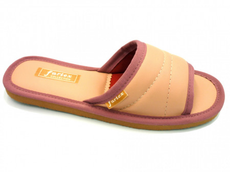 papuci-casa-piele-roz-pal