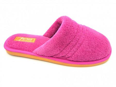 papuci casa frotir roze