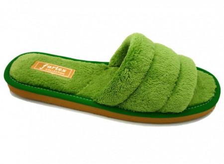 papuci casa frotir verde