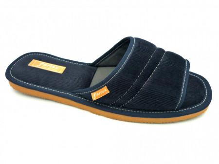 papuci casa barbati raiat bleumarin-1