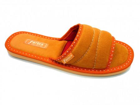 papuci casa raiat orange