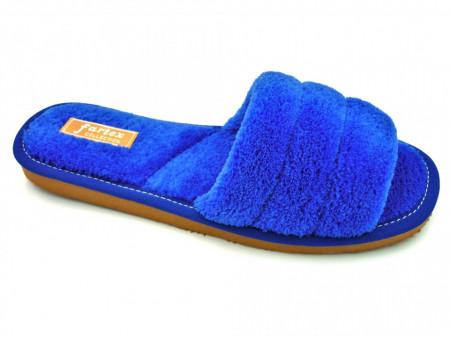 papuci casa frotir albastru