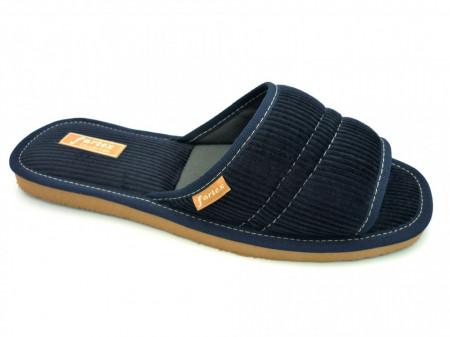 papuci casa barbati bleumarin-2