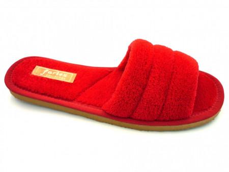 papuci casa frotir rosu