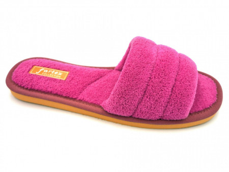 papuci de casa frotir roze