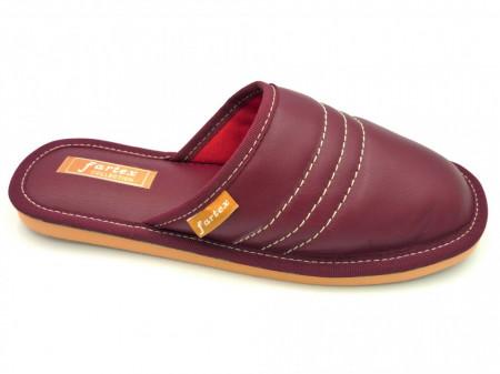 papuci-casa-piele-visiniu