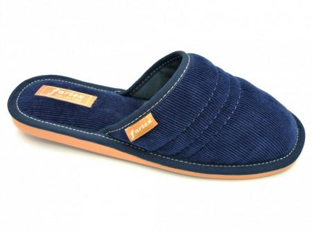 papuci casa-raiat-bleumarin-NE