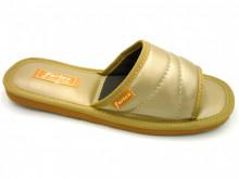 papuci casa auriu decupati
