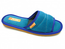 papuci casa albastru decupati