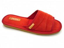 papuci de casa rosu decupati