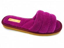 papuci casa lila decupati