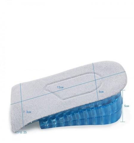 Branturi inaltatoare cu pana la 5 cm Otto pentru femei, din silicon gel fagure, pentru cizme, pantofi, marimea S-M (34-38)