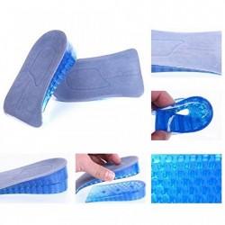 Branturi inaltatoare cu pana la 3 cm Otto pentru femei, din silicon gel fagure, pentru cizme, pantofi, marimea S-M (34-38)