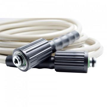 Furtun presiune PVC cu conector M22, lungime 7,5m gri