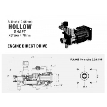 Pompa de presiune PA000-3WA3025AP