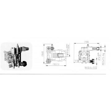 Pompa de presiune PA000-PW29/2.5 C