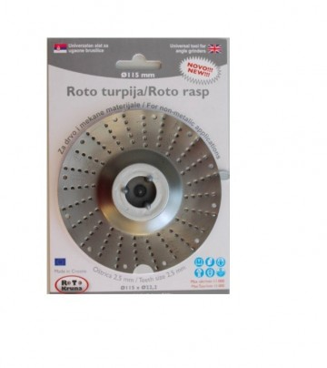 Slika Turpija za brusilicu 115x2.5 mm ROTO KRUNA