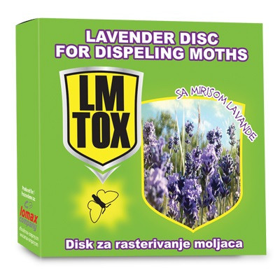 Disk za moljce LM TOX