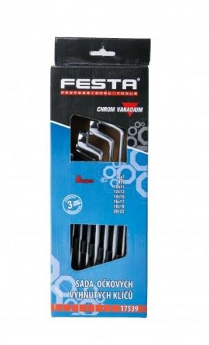 Ključevi okasti komplet 6-22mm FESTA