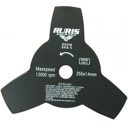 Nož za trimer - trokraki 255x1.4 RURIS