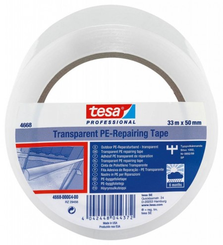 PE traka za popravke providna 50mm - 33m TESA