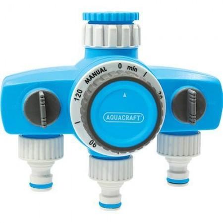 Tajmer za zalivanje - tri priključka Aquacraft Bilder