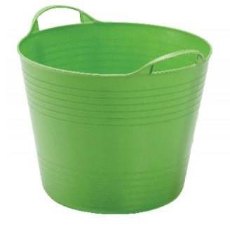 Univerzalna plastična kofa 43 l-zelena