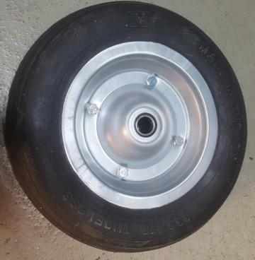 Točak za gradjevinska kolica - puna guma sa lagerom