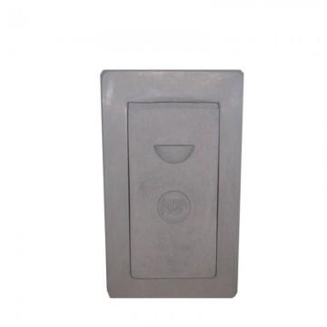 Betonska vrata za dimnjak veća